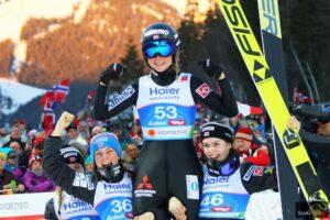Maren Lundby Seefeld2019 fot.Julia .Piatkowska Winner 300x200 - MŚ Seefeld: Lundby ze złotem, Althaus pół punktu za nią, dobry występ Karpiel!