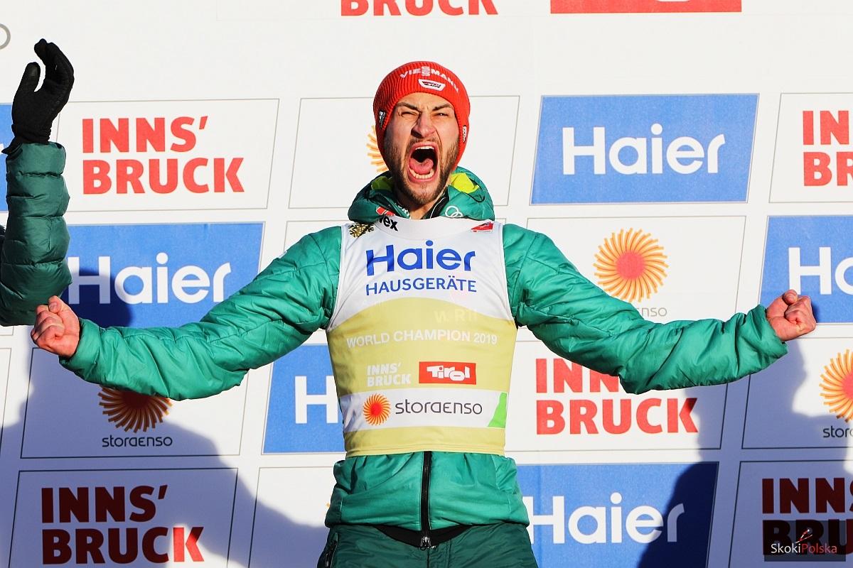 Markus Eisenbichler w wielkim stylu triumfuje w mistrzostwach Niemiec