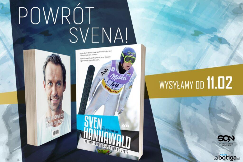 Autobiografia Hannawalda od SQN znów w sprzedaży, pod patronatem SkokiPolska.pl!