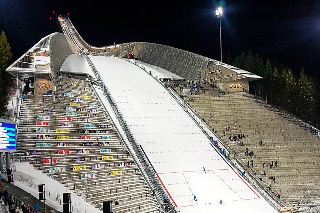 Oslo - Holmelnkollbakken (fot. Martyna Ostrowska)