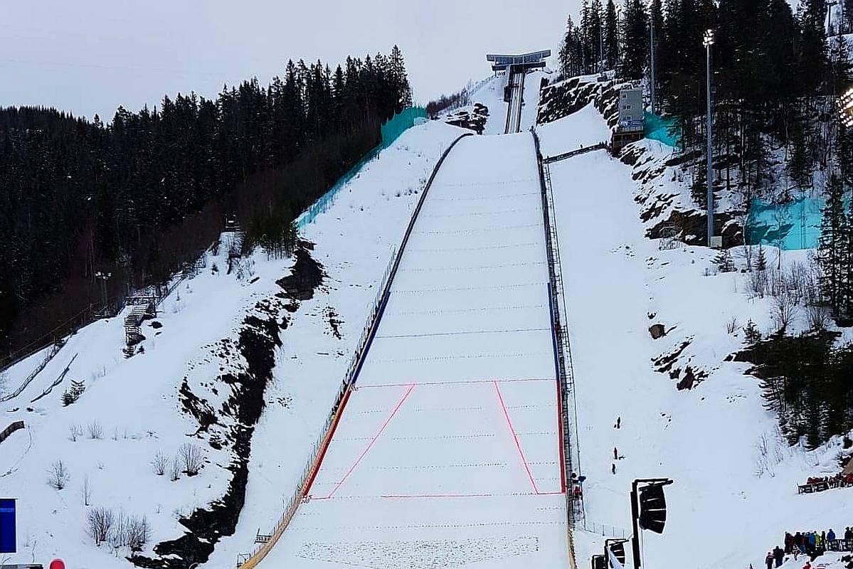 Tydzień lotów narciarskich w Vikersund w 2022 roku?