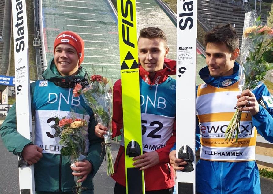 Od lewej: Klemens Murańka, Philipp Raimund, Rok Justin (fot. Bartłomiej Burda)