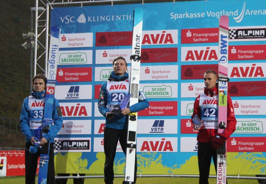 Anže Lanišek: nie spodziewałem się, że wygram w Klingenthal