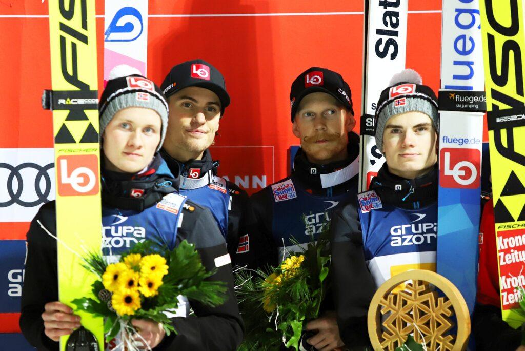 Norwegowie (Markeng, Tande, Johansson, Lindvik), fot. Jagoda Bodzianny