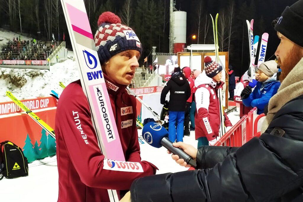 """Dawid Kubacki o trzecim miejscu w Ga-Pa: """"Może być wyżej. Zabrakło niewiele"""""""