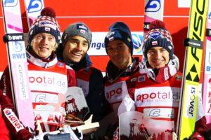 PŚ Lahti: 9 ekip na starcie drużynówki, czy Polacy wrócą na podium? [LIVE]