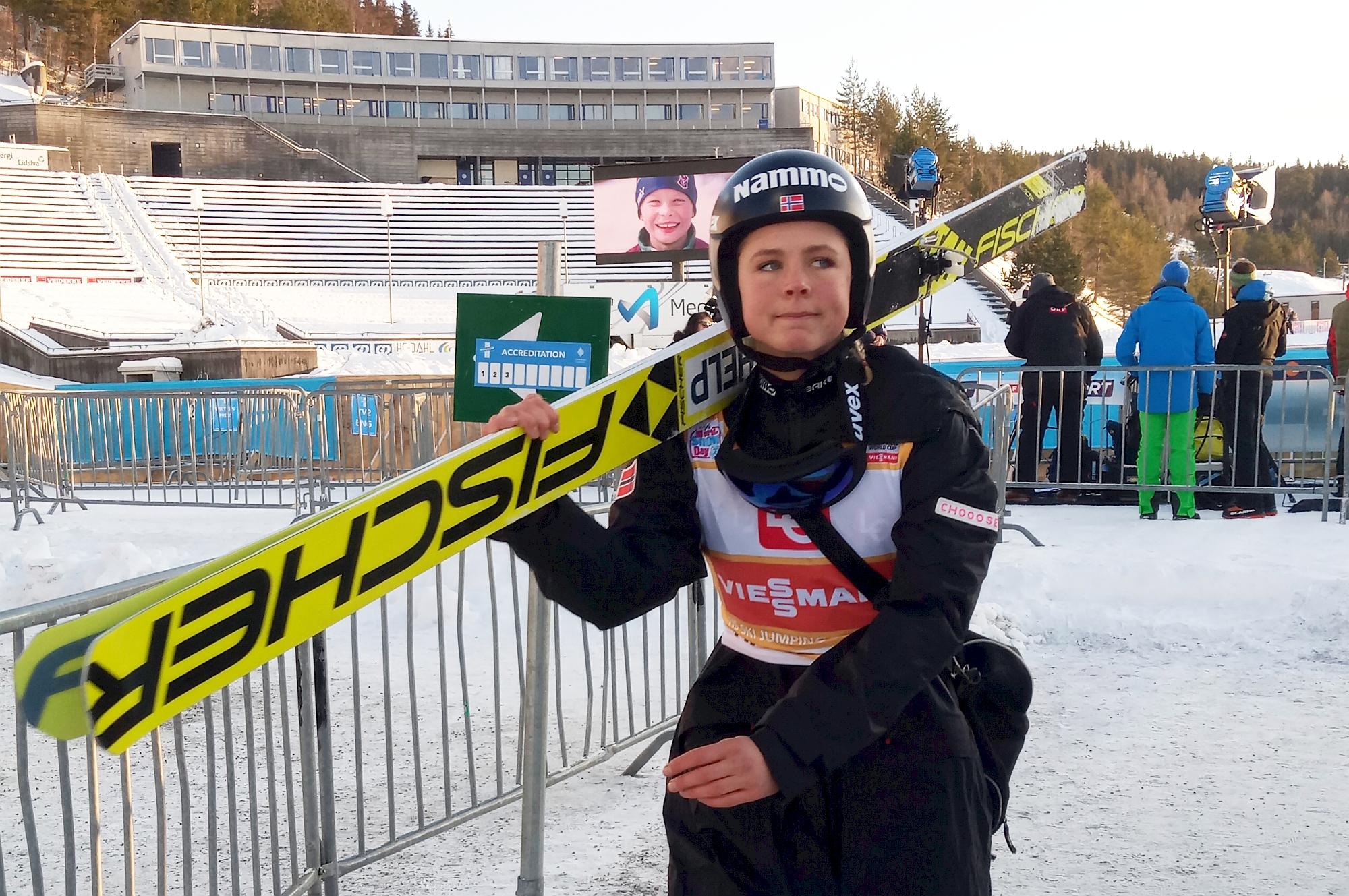 """Maren Lundby zdobywa mistrzostwo Norwegii. """"To co się teraz dzieje jest niesprawiedliwe"""""""