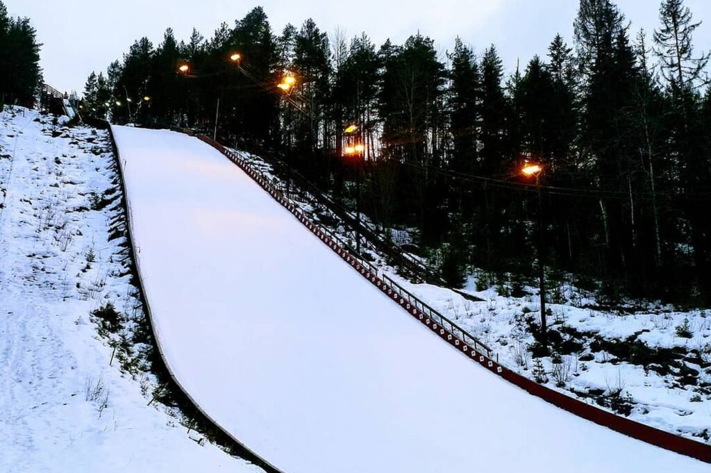 Skocznia w Notodden (fot. Renata Nadarkiewicz)