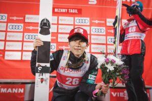 """Yukiya Sato po sensacyjnym zwycięstwie: """"Nie osiągnąłem jeszcze poziomu lidera Pucharu Świata"""""""