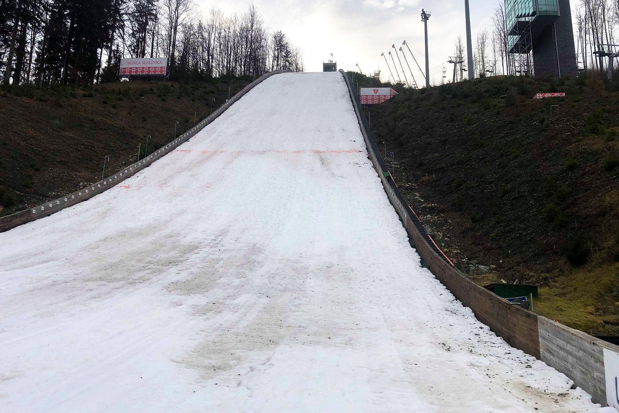Mistrzostwa Polski w Wiśle odwołane! Warunki nie pozwolą na skoki [ZDJĘCIA]