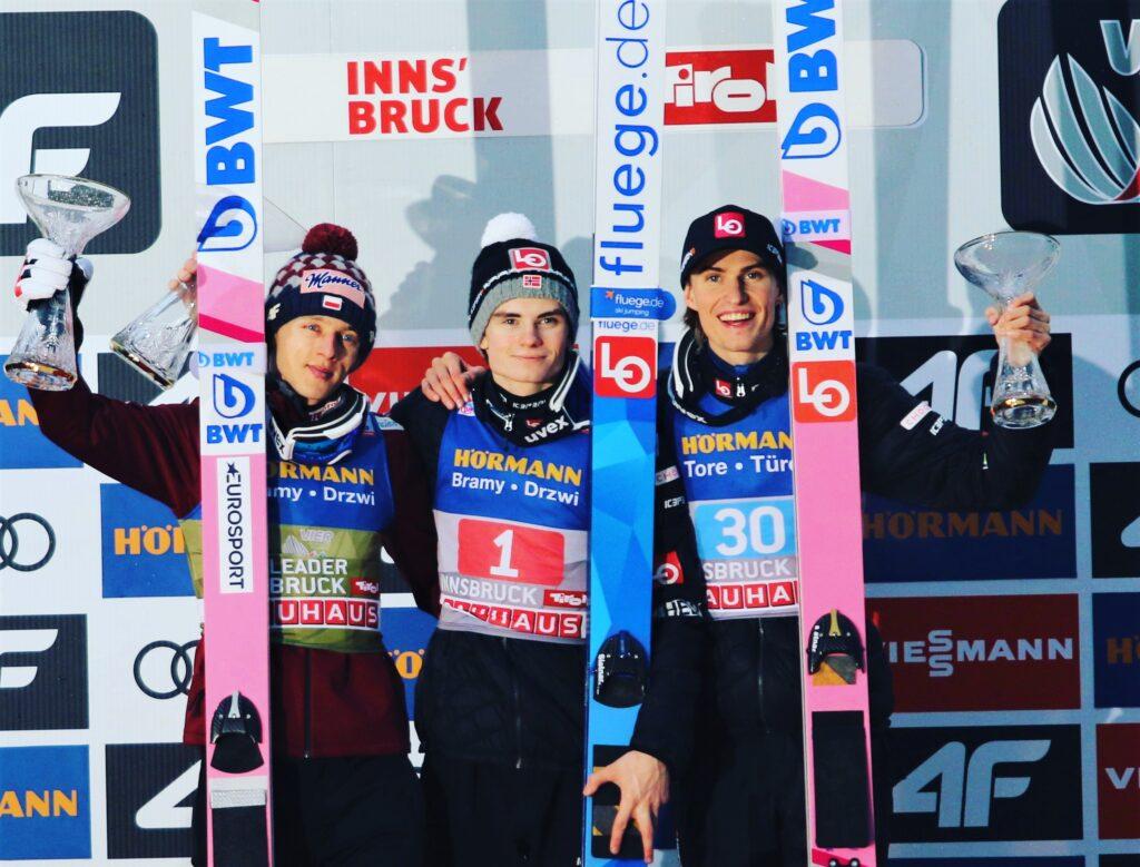 TCS Innsbruck: Lindvik zwycięża, Kubacki liderem turnieju!