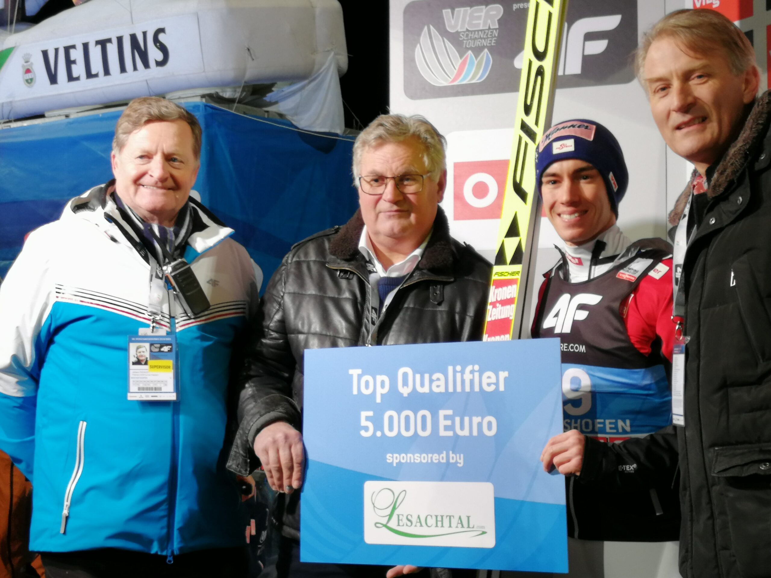 TCS Bischofshofen: Kraft wygrywa kwalifikacje!
