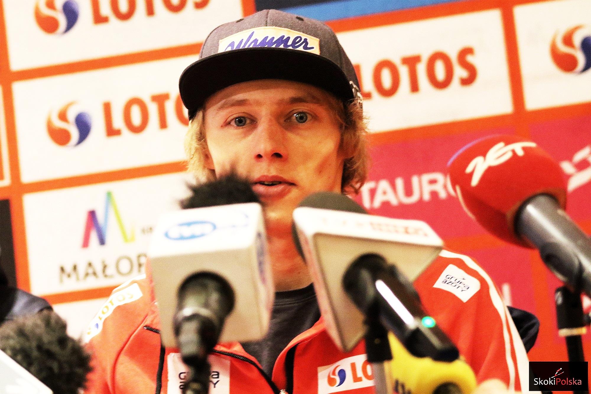 """Dawid Kubacki po triumfie w Niemczech: """"Czułem się jak podczas domowych zawodów"""""""
