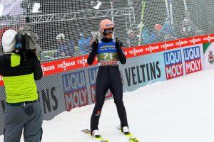 """KarlGeiger Innsbruck2020 fot.JPiatkowska 300x200 - PŚ Lahti: Geiger liderem konkursu, tylko jeden Polak w czołowej """"10"""" [WYNIKI]"""