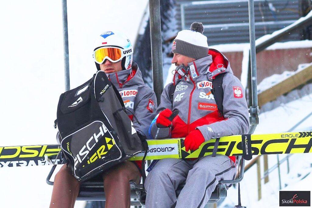 Kamil Stoch i Adam Małysz (fot. Julia Piątkowska)
