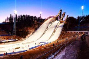 Lahti - kompleks skoczni Salpausselka (fot. Anna Trybuś)