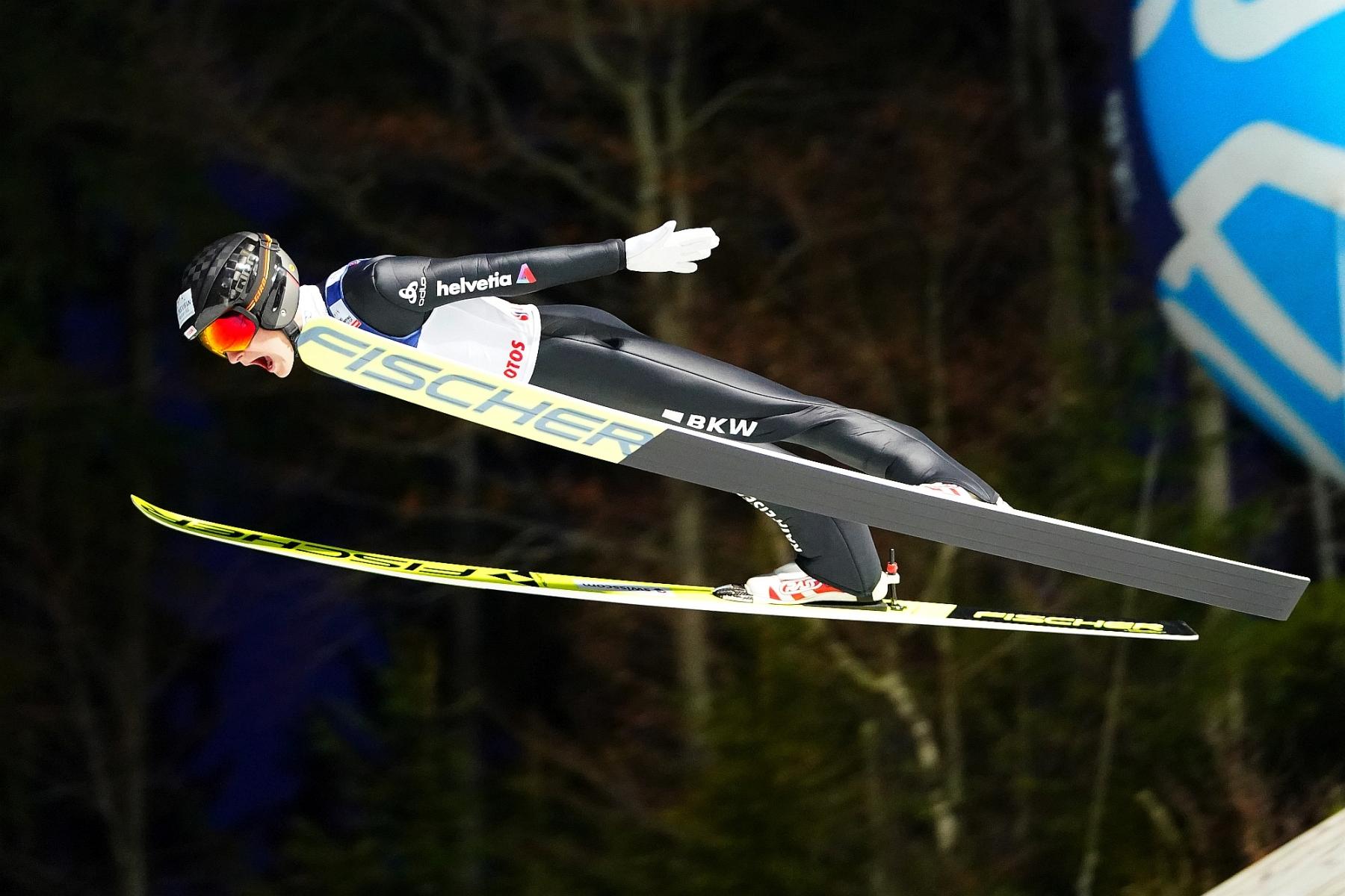 MŚ Juniorów Lahti: Dominik Peter liderem po pierwszej serii