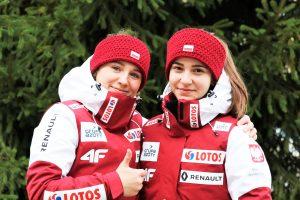 Anna Twardosz i Nicole Konderla (fot. PZN)