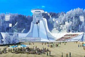 """Zhangjiakou wizualizacja MyDailyArt Beijing2022OC 300x200 - Chińskie problemy w olimpijskim projekcie """"Pekin 2022"""". Co zrobi Kojonkoski?"""