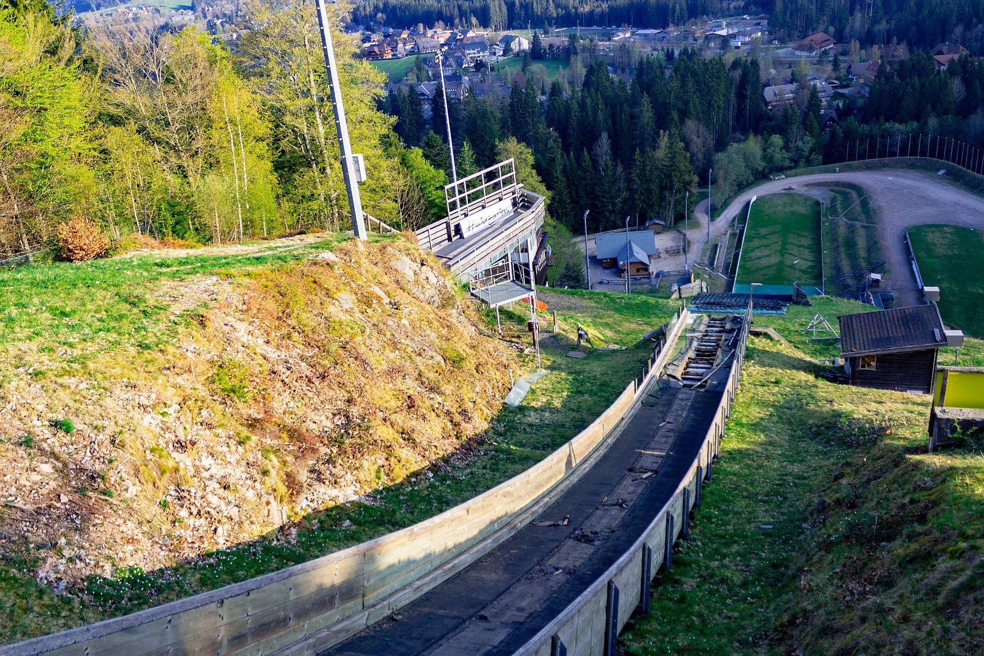 Trwa remont skoczni w Hinterzarten. Ten obiekt to symbol letnich zmagań
