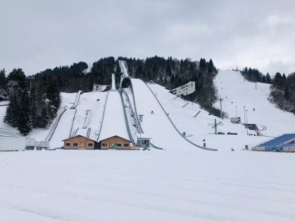 Skocznie w Garmisch Partenkirchen / fot. Anna Trybuś