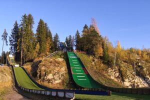 Skocznie w Parku Vakkosalmi (fot. tramplin.perm.ru)