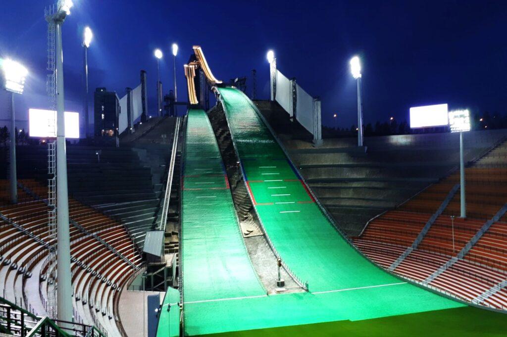 Skocznie w Szczuczyńsku (fot. Mirko Gornik / Skisprungschanzen.com)