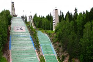 Skocznie w Jyväskylä (fot. Ilmari Repo)