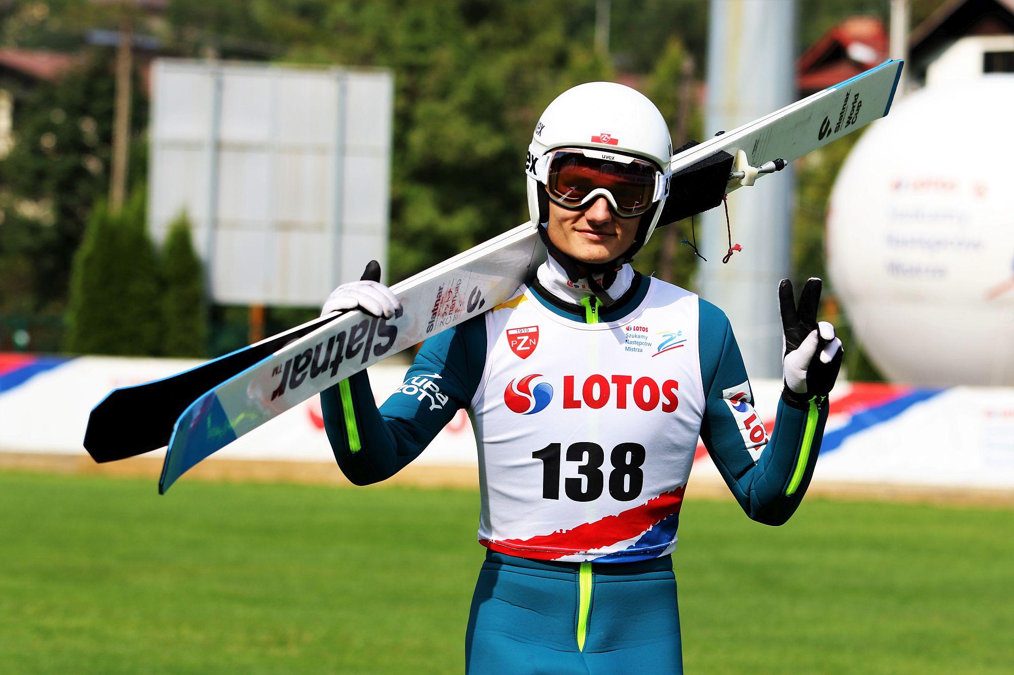 You are currently viewing Mateusz Gruszka i Wiktoria Przybyła najlepsi w niedzielnych zawodach LOTOS Cup
