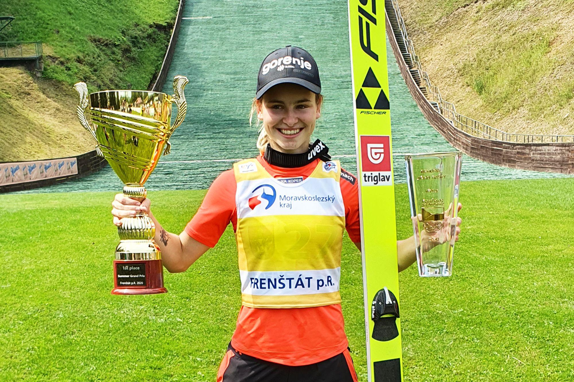 NikaKriznar Frenstat2020 fot.LukaszSzymura - Letnie Grand Prix kobiet
