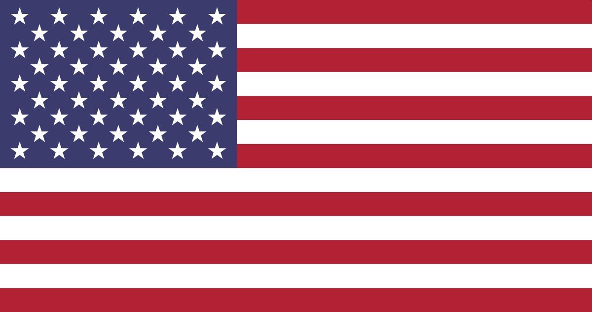 Flaga Stany Zjednoczone USA - BYLI SKOCZKOWIE (sportowe biografie)