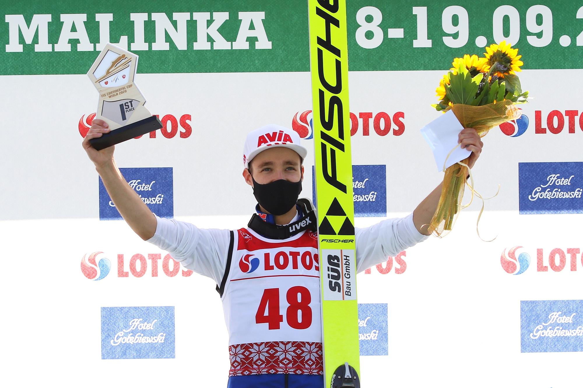 MartinHamann Wisla2020winner fot.JuliaPiatkowska2 - Letni Puchar Kontynentalny