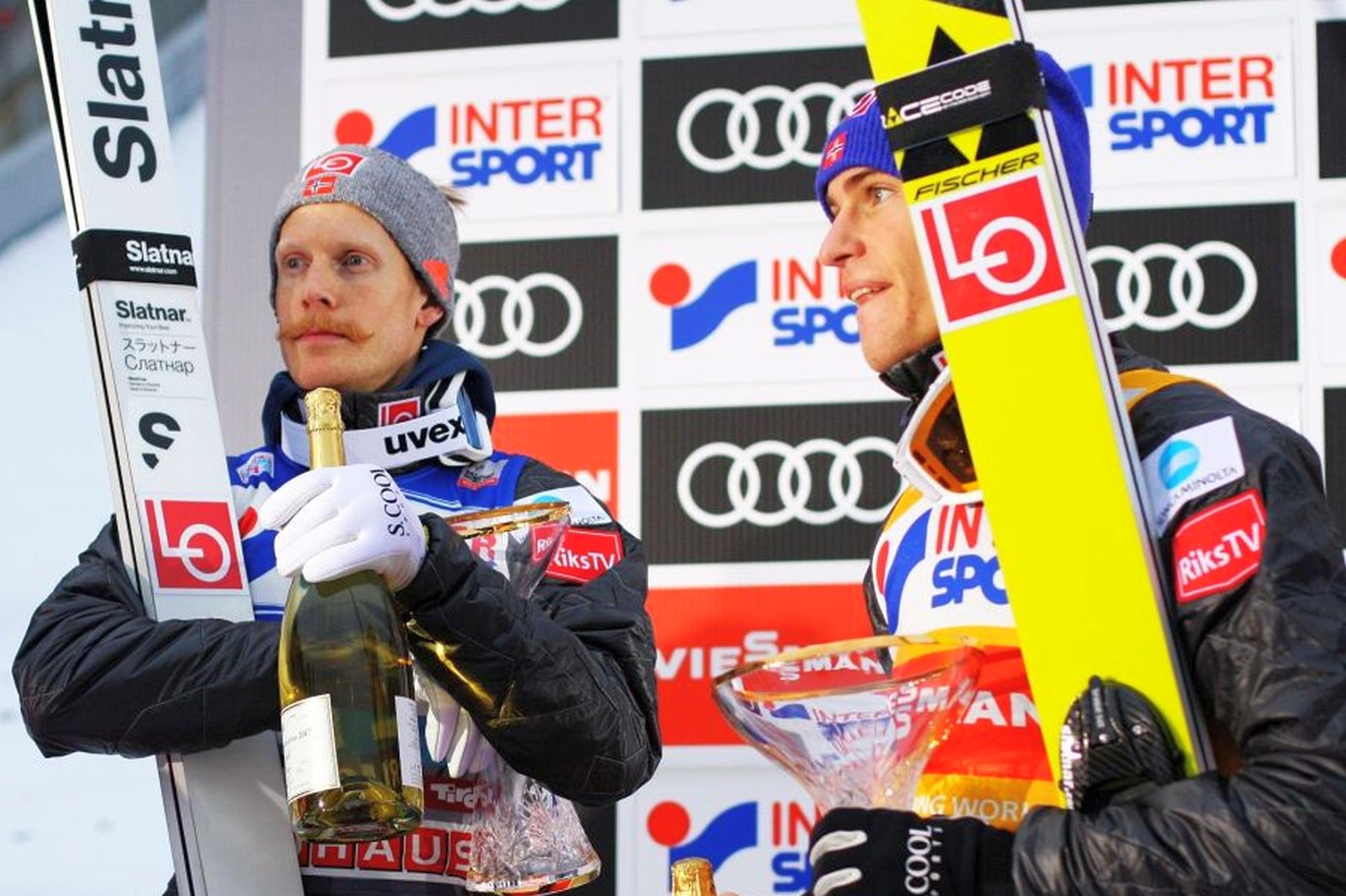 """Raw Air Challenge: Johansson wygrywa skoki do celu, Tande narciarski """"maraton"""""""