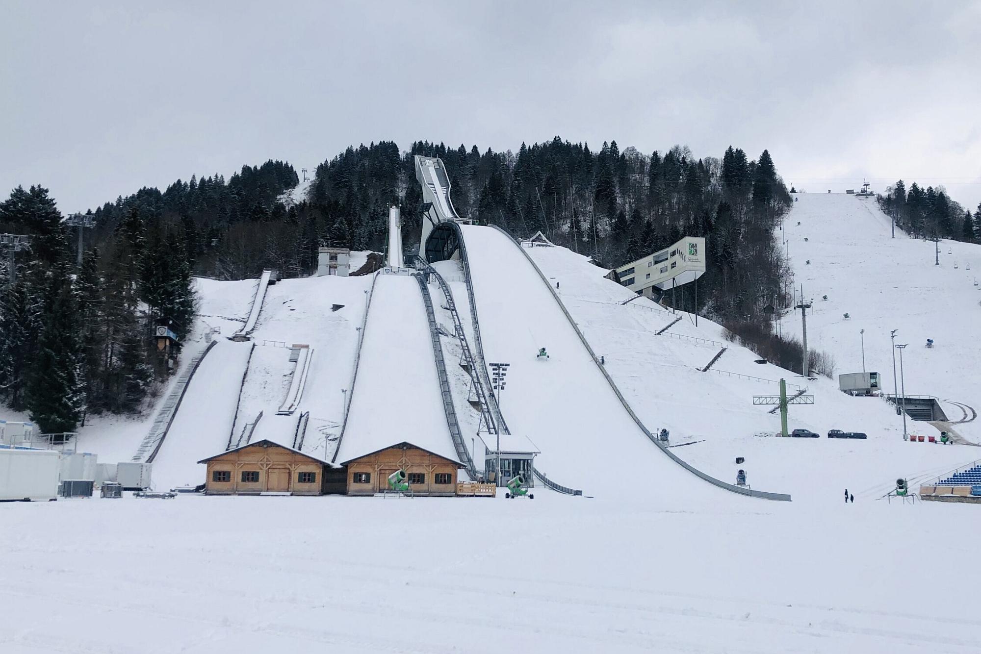 Zawody Turnieju Czterech Skoczni w Garmisch-Partenkirchen bez kibiców!