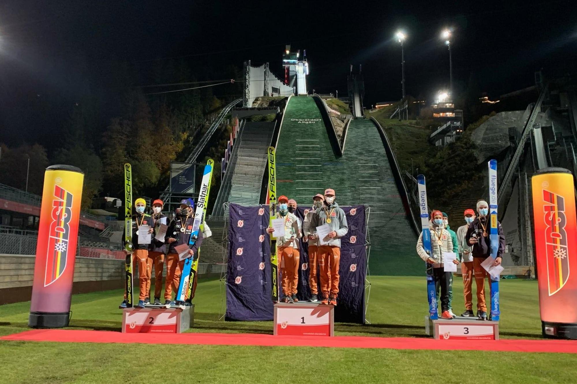 Bawarscy skoczkowie zdominowali drużynowe mistrzostwa Niemiec, popis Eisenbichlera