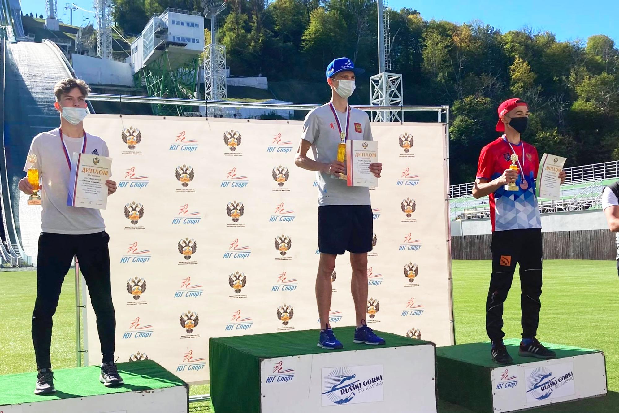Bazhenov i Makhinia najlepsi z mistrzostwach Rosji w Krasnej Polanie