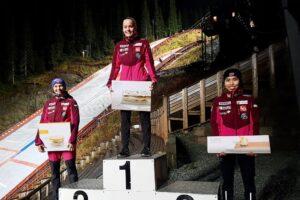 Opseth Kvandal Bjoerseth Hopplandslaget 300x200 - Lindvik i Kvandal z tytułami mistrzowskimi w norweskim Trondheim