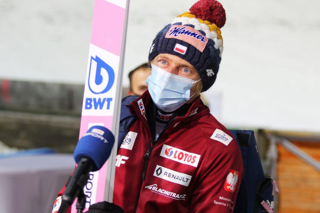 """Dawid Kubacki po drużynówce: """"Jutro trzeba skakać na maksimum swoich możliwości"""""""