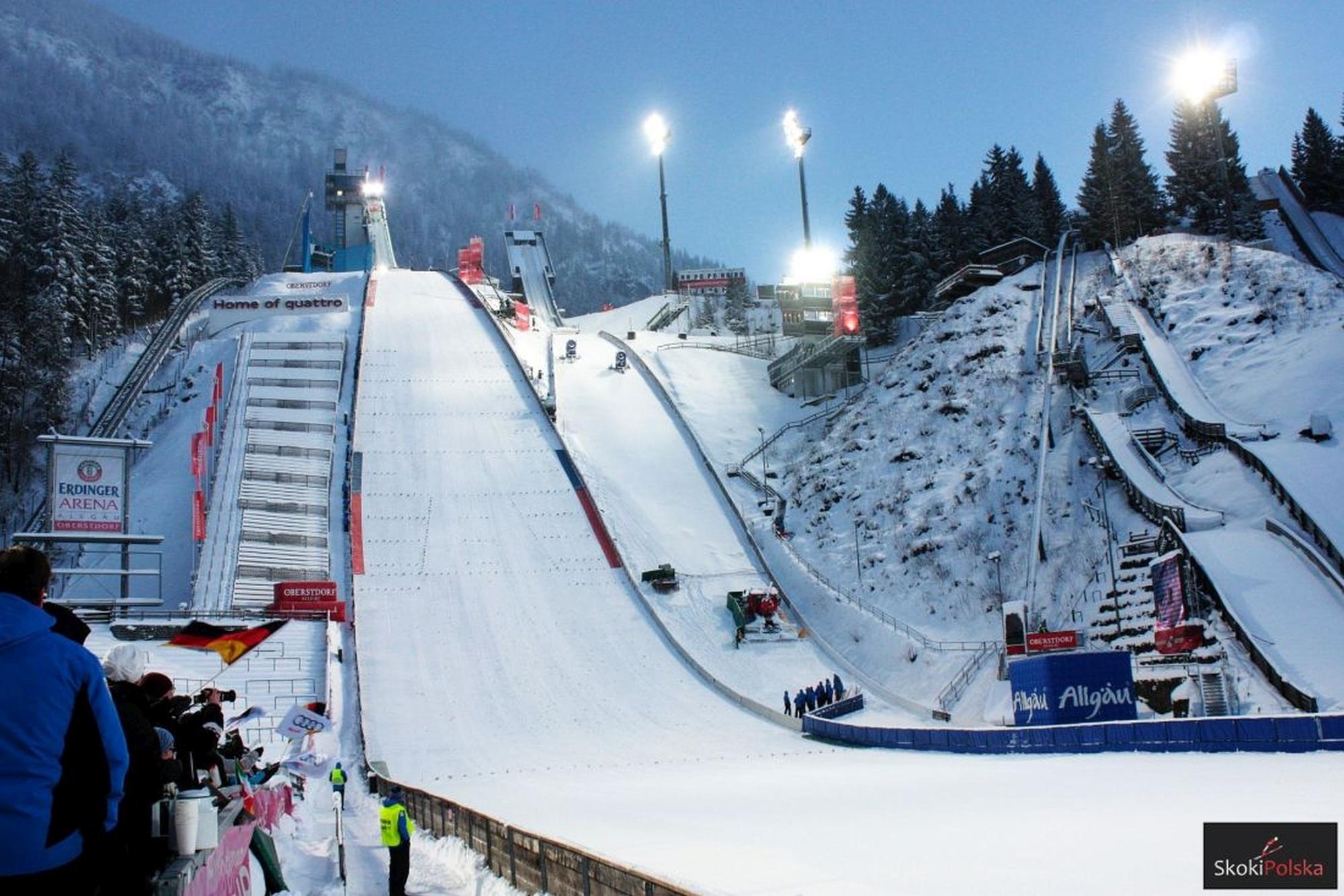 Turniej Czterech Skoczni i Mistrzostwa Świata w Oberstdorfie z udziałem kibiców