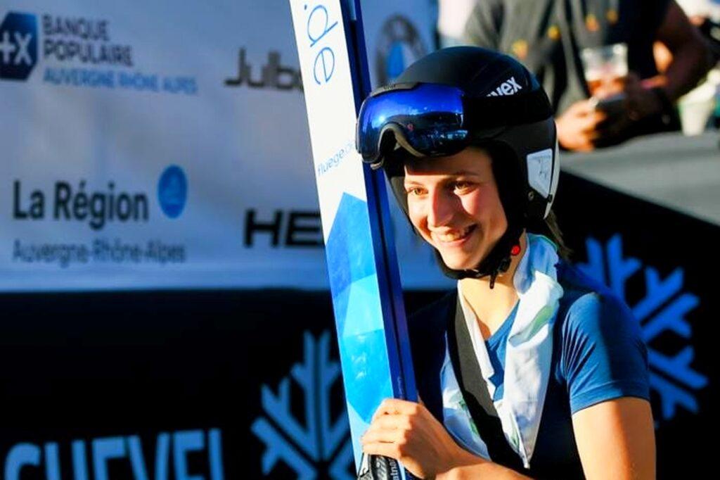 FIS Cup Kandersteg: Josephine Pagnier wygrywa z rekordem skoczni