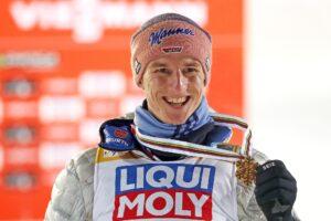 Planica: Geiger mistrzem świata w lotach, Granerud pół punktu za nim, Żyła najwyżej z Polaków!
