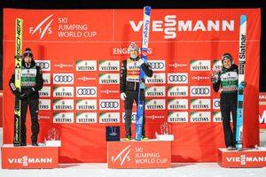 PŚ Engelberg: Granerud wygrywa, Stoch wraca na podium!