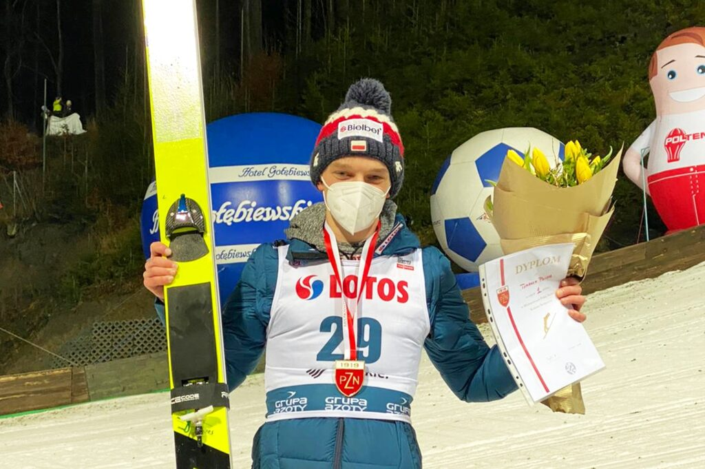 """Tomasz Pilch podsumowuje FIS Cup w Zakopanem. """"Chcę podejść do skoków na luzie"""""""