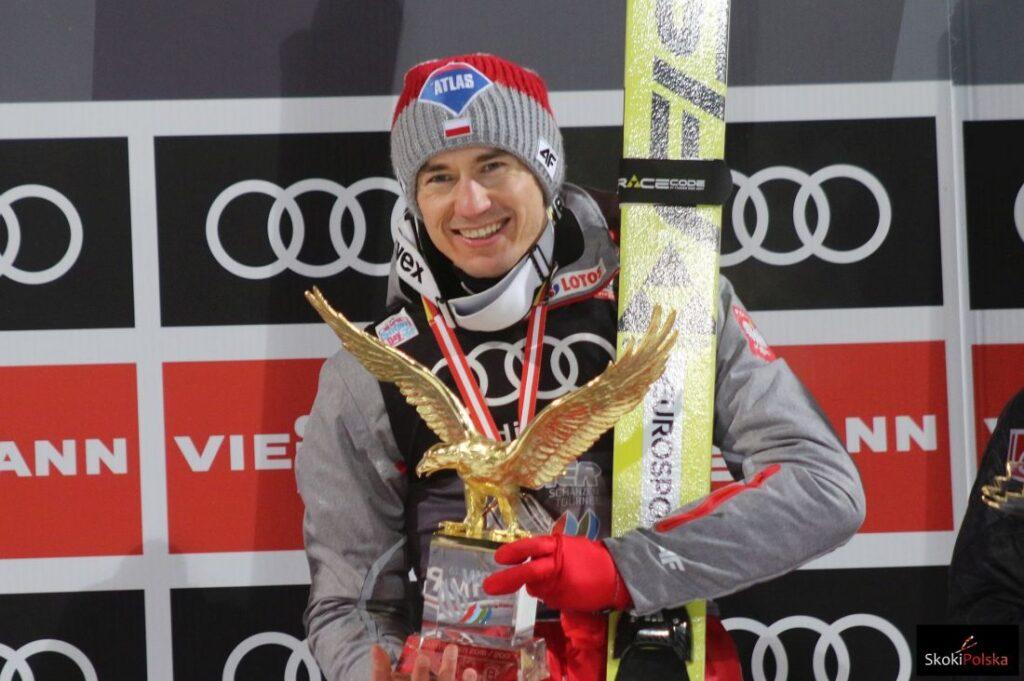TCS Bischofshofen: Stoch wygrywa finałowy konkurs i Złotego Orła, Kubacki na podium!