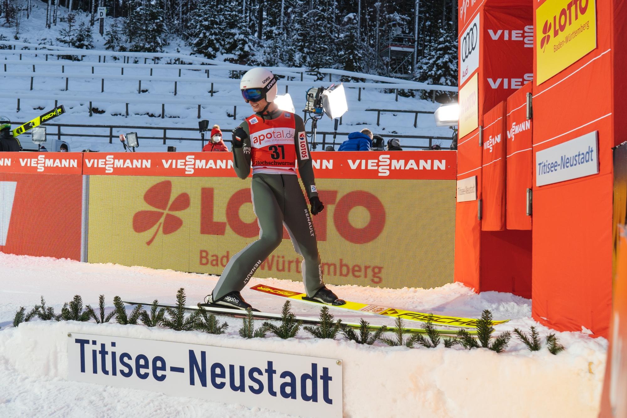 PŚ Titisee-Neustadt: Kraft najlepszy w serii próbnej, Stękała trzeci