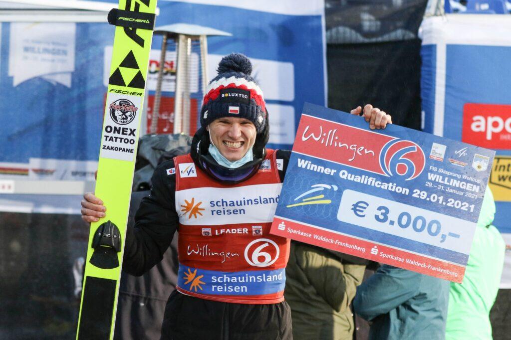 PŚ Willingen: Stękała wygrywa kwalifikacje, Murańka z imponującym rekordem skoczni!