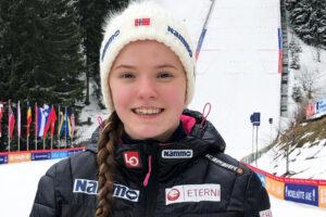 """Eirin Maria Kvandal dla SkokiPolska: """"Fajnie by było polatać na skoczni mamuciej"""""""