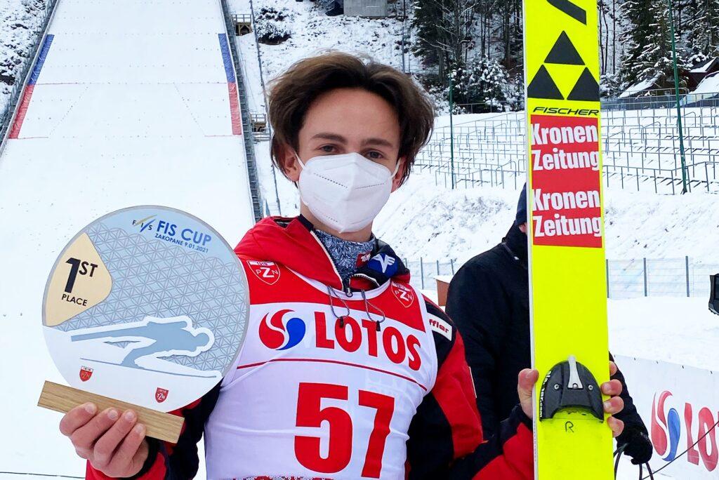 FIS Cup Zakopane: Elias Medwed wygrywa, Tomasz Pilch piąty