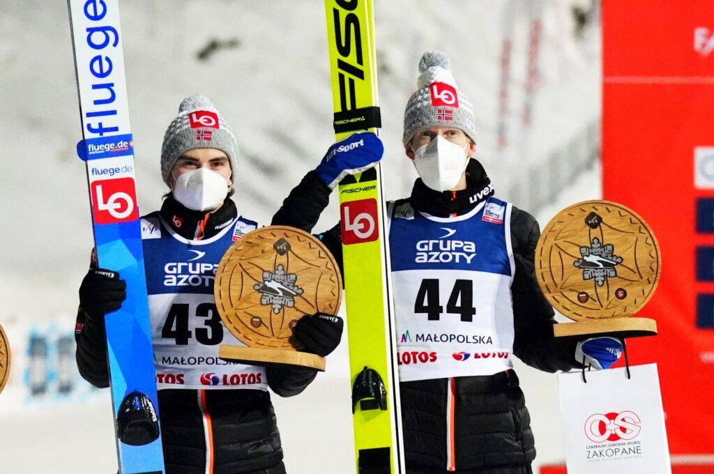 """Lindvik: """"Norweska drużyna jest teraz bardzo mocna"""". Wikingowie liderami Pucharu Narodów"""