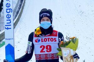 Nika Vetrih Szczyrk2021 fot.JuliaPiatkowska 300x200 - FIS Cup Szczyrk: Pierwsze zwycięstwo Vetrih, ogromny pech Karpiel